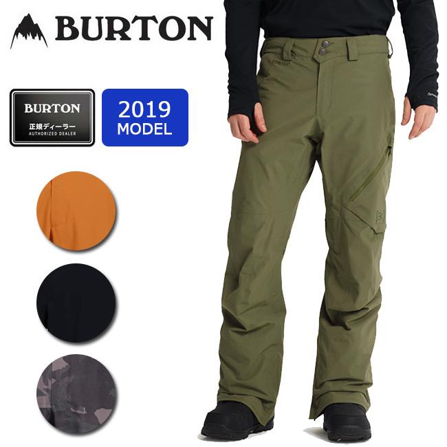 2019 BURTON バートン M AK GORE CYCLIC PT 100001 【スノーボードウェア/パンツ/スノーボード/日本正規品/メンズ/GORE-TEX】 【highball】