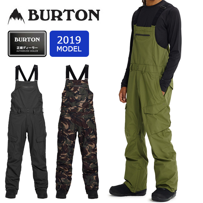 2019 BURTON バートン MB GRE RESRV BIB PT 205541 【スノーボードウェア/パンツ/スノーボード/日本正規品/メンズ】