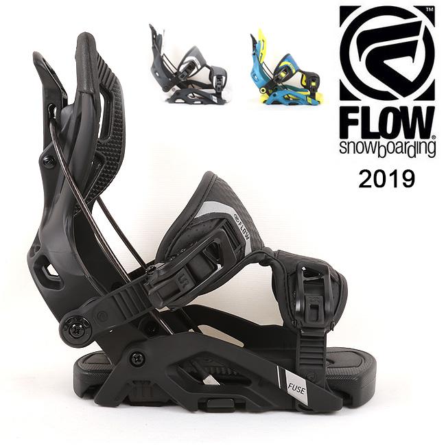 【期間限定カード決済で更に+P7倍10/4 20時~】2019 FLOW フロー FUSE FUSION 【ビンディング/日本正規品/スノー/スノーボード/メンズ】 【highball】