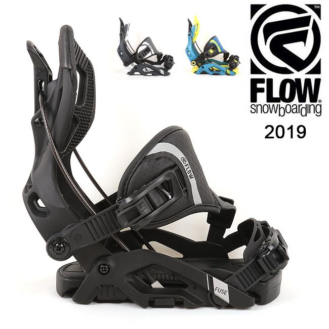 2019 FLOW フロー FUSE HYBRID 【ビンディング/日本正規品/スノー/スノーボード/メンズ】