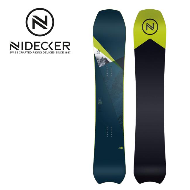 2019 NIDECKER ナイデッカー AREA 【板/スノーボード/日本正規品/メンズ】