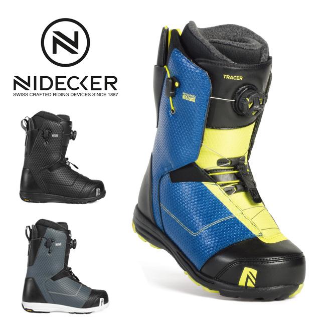 2019 NIDECKER ナイデッカー TRACER HEEL-LOCK COILER 【ブーツ/スノーボード/日本正規品/メンズ】
