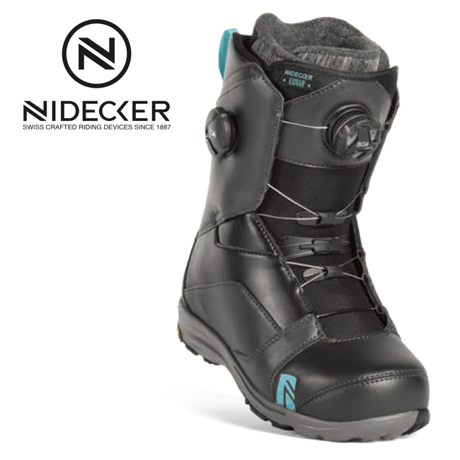 2019 NIDECKER ナイデッカー LUNAR HEEL-LOCK FOCUS 【ブーツ/スノーボード/日本正規品/レディース】
