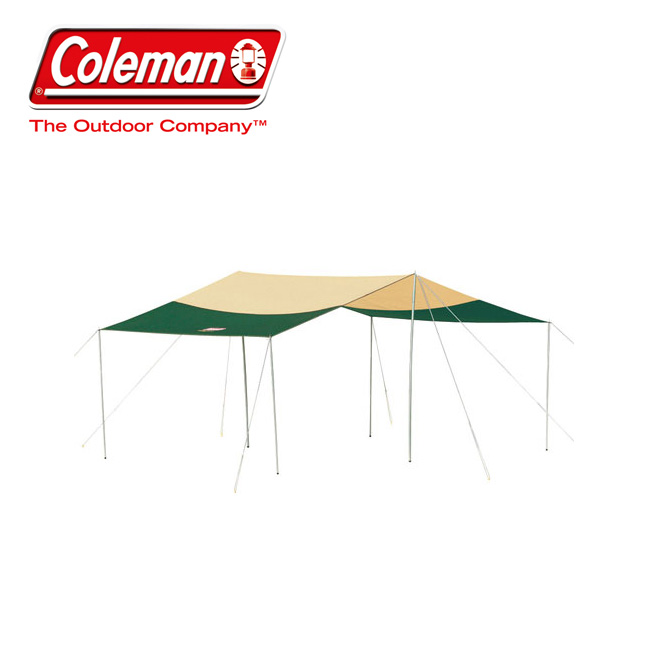【エントリーでP10倍!7月21日20時~】Coleman コールマン スクエアタープDX 2000028617 【アウトドア/キャンプ/イベント】 【highball】
