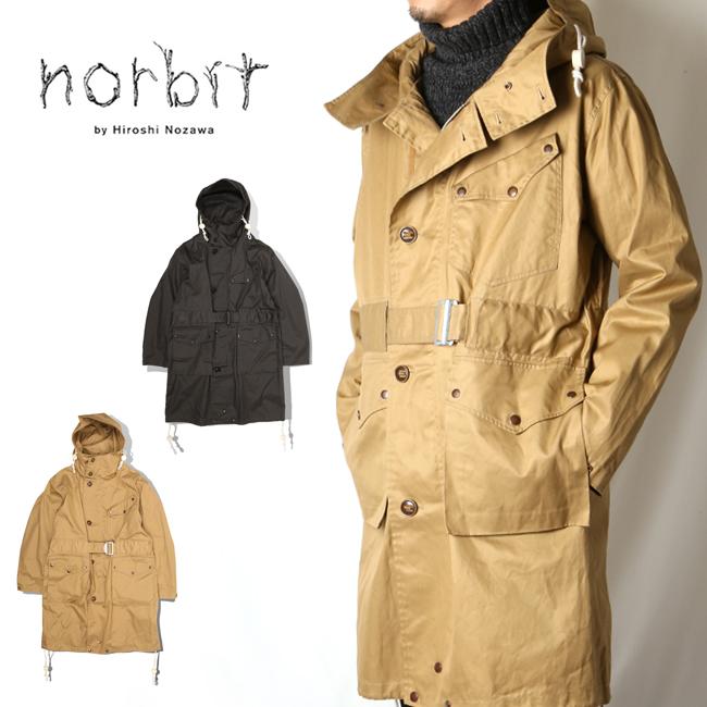 【エントリーでP10倍 7月26日1:59まで】● norbit ノービット FIELD WORK COAT HNCT-001 【アウトドア/コート/アウター/メンズ】