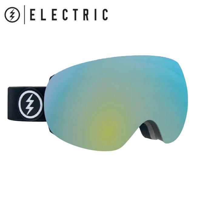 2019 ELECTRIC エレクトリック EG3 MATTE BLACK GREY/GOLD CHROME  19EG3MB 【2019/ゴーグル/スノーボード/スノー/日本正規品/アジアンフィット】