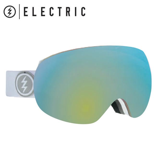 2019 ELECTRIC エレクトリック EG3 MATTE WHITE GREY/GOLD CHROME  19EG3MW 【2019/ゴーグル/スノーボード/スノー/日本正規品/アジアンフィット】