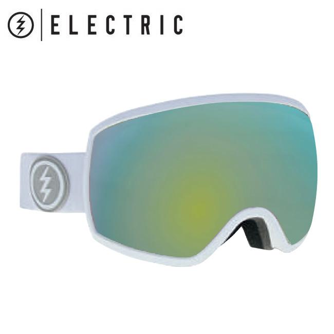 2019 ELECTRIC エレクトリック EGG MATTE WHITE GREY/GOLD CHROME  19EGGMW 【2019/ゴーグル/スノーボード/スノー/日本正規品/アジアンフィット】