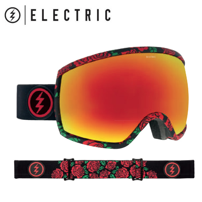 2019 ELECTRIC エレクトリック EGG ROSA BROSE/RED CHROME CONTRAST 19EGGR 【2019/ゴーグル/スノーボード/スノー/日本正規品/アジアンフィット】