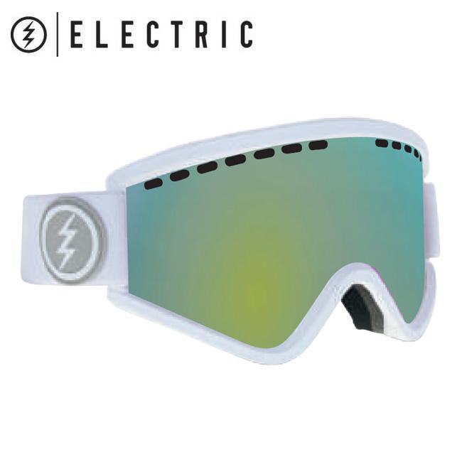 2019 ELECTRIC エレクトリック EGV MATTE WHITE GREY/GOLD CHROME  19EGVMW 【2019/ゴーグル/スノーボード/スノー/日本正規品/アジアンフィット】