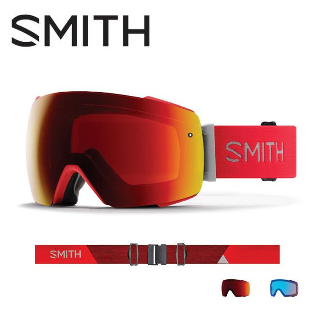 2019 スミス SMITH OPTICS I/O MAG Rise CP Sun Red Mirror / CP Storm Rose Flash 【2019/ゴーグル/日本正規品/ジャパンフィット/アジアンフィット】