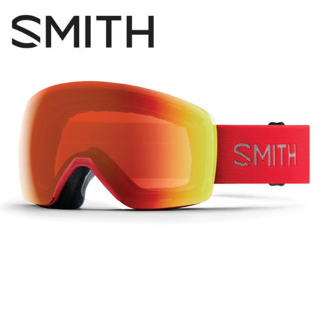 2019 スミス SMITH OPTICS Skyline Rise CP Everyday Red Mirror 【2019/ゴーグル/日本正規品/ジャパンフィット/アジアンフィット】