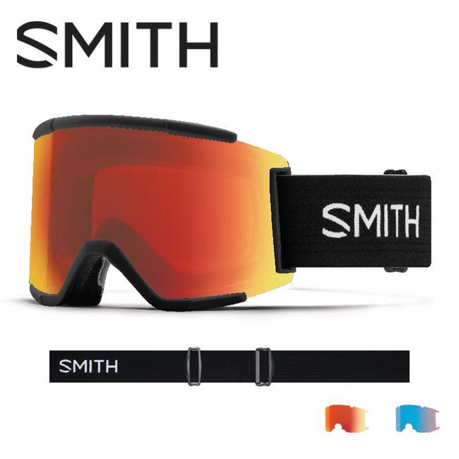 2019 スミス SMITH OPTICS Squad XL Black CP Everyday Red Mirror / CP Storm Rose Flash 【2019/ゴーグル/日本正規品/ジャパンフィット/アジアンフィット】 【highball】