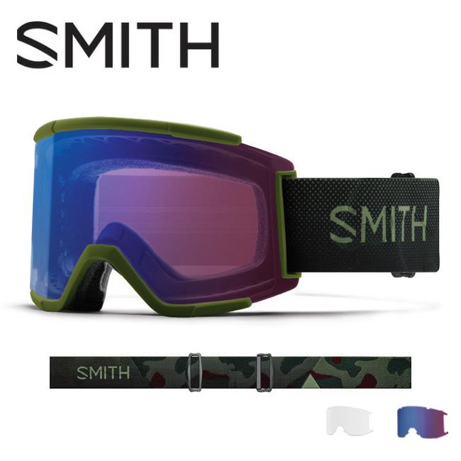 2019 スミス SMITH OPTICS Squad XL Moss Surplus CP Photochromic Rose Flash【調光】/ Clear 【2019/ゴーグル/日本正規品/ジャパンフィット/アジアンフィット】 【highball】