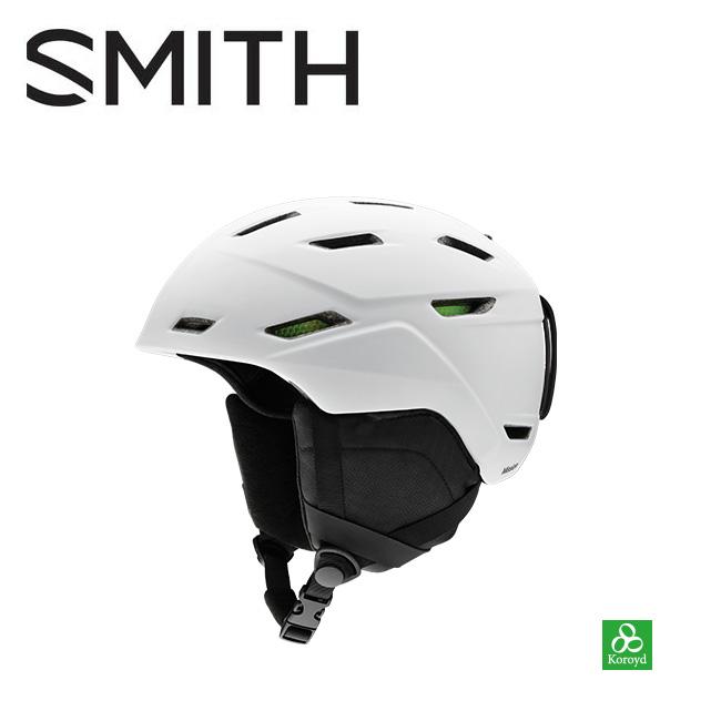 【期間限定カード決済で更に+P7倍10/4 20時~】2019 スミス SMITH OPTICS Mission Matte White 【2019/ヘルメット/日本正規品】 【highball】