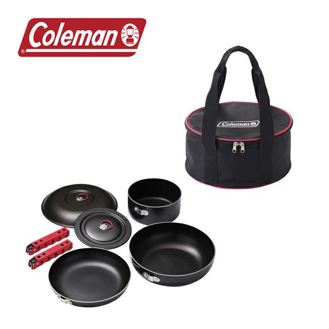 Coleman コールマン アルミクッカーセット 2000010531 【アウトドア/クッカー/料理/バーベキュー】 【highball】
