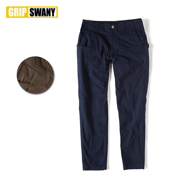 GRIP SWANY グリップスワニー FLANNEL LINING WORK PANTS フランネルライニングワークパンツ GSP-57 【アウトドア/パンツ/キャンプ】 【highball】