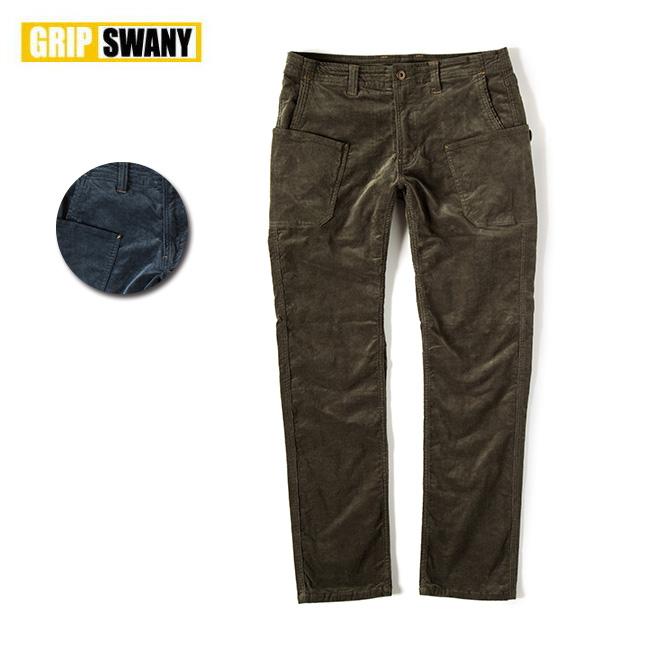 【エントリーでP10倍!7月21日20時~】GRIP SWANY グリップスワニー CORDUROY WORK PANTS コーデュロイワークパンツ GSP-14 【アウトドア/パンツ】 【highball】