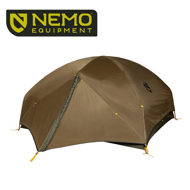 NEMO Equipment ニーモ・イクイップメント GALAXI STORM 2P NM-GXST-2P-CY 【アウトドア/キャンプ/テント/二人】