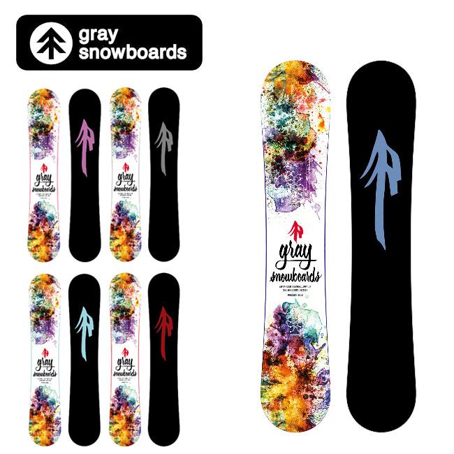 GRAY SNOWBOARDS グレイ スノーボード PRODIGY プロディジー 146.5 151.5 153.5 155.5 157.5 【2019/日本正規品/スノー】国産(オガサカ製)