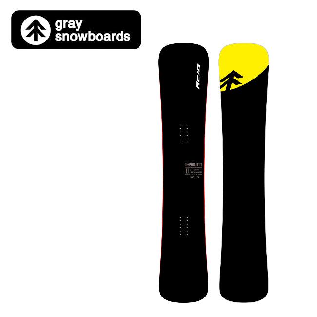 【期間限定エントリーでP10倍!8月4日20時から】GRAY SNOWBOARDS グレイ スノーボード DESPERADO デスパラード II w_Ti (154) 【2019/日本正規品/スノー】国産(オガサカ製)