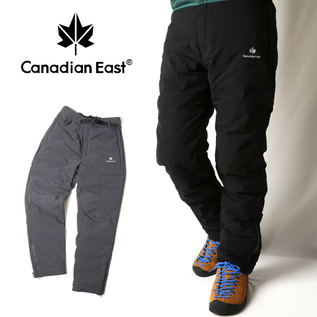 Canadian East カナディアンイースト メンズシームレスダウンパンツ CEW6222P 【アウトドア/ダウン/パンツ/キャンプ/防寒】 【highball】