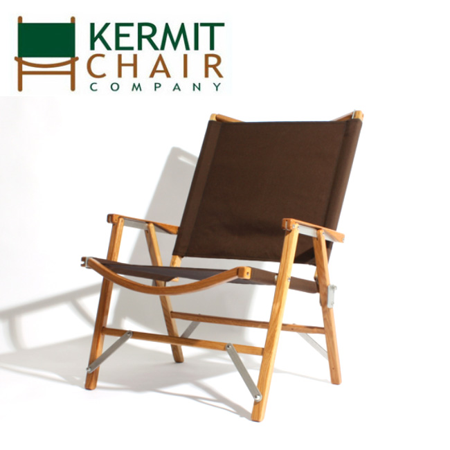 ● 【日本正規品】kermit chair カーミットチェアー Kermit Chair Hi-Back BROWN KCC-507 【アウトドア/キャンプ/椅子/天然木】