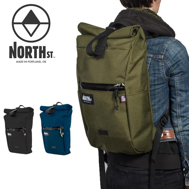● North St. Bags ノースストリートバッグス Davis Daypack 【バックパック/バッグ/バック/ロールトップ/アウトドア】