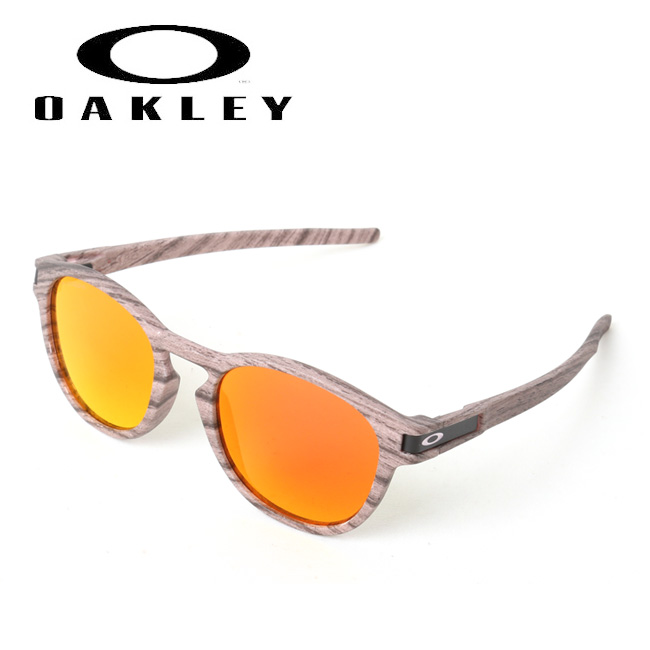 OAKLEY オークリー Latch (Asia Fit) Woodtstain Collection OO9349-2653 【日本正規品/サングラス/アジアンフィット/海/アウトドア/キャンプ/フェス/PRIZM】 【highball】