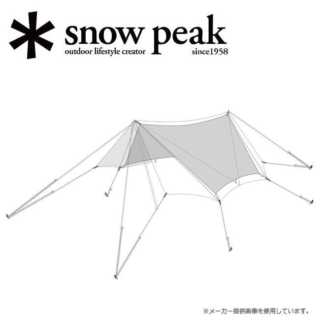 snowpeak スノーピーク TAKIBIタープ オクタ インナールーフ TP-430-1 【インナールーフ/アウトドア/キャンプ/BBQ/バーベキュー】 【highball】