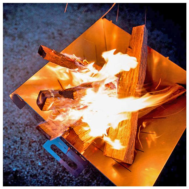 auvil オーヴィル エッジ キャンプ ストーブ+網セット(焚火台) 【ストーブ/アウトドア/キャンプ】