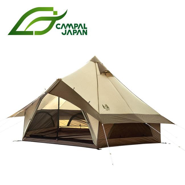 CAMPAL JAPAN キャンパルジャパン グロッケ8 (4人用モノポール+1フレームテント) 2786 【テント/アウトドア/キャンプ】
