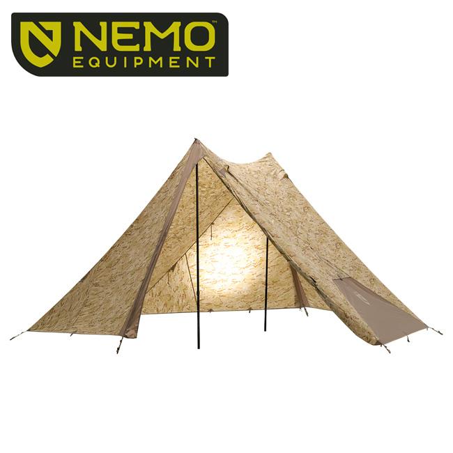 【期間限定エントリーでP10倍!8月4日20時から】NEMO Equipment ニーモ・イクイップメント HEXALITE SE 6P(MultiCam Arid) NM-HEX-6P-MTCAR 【アウトドア/テント/キャンプ】