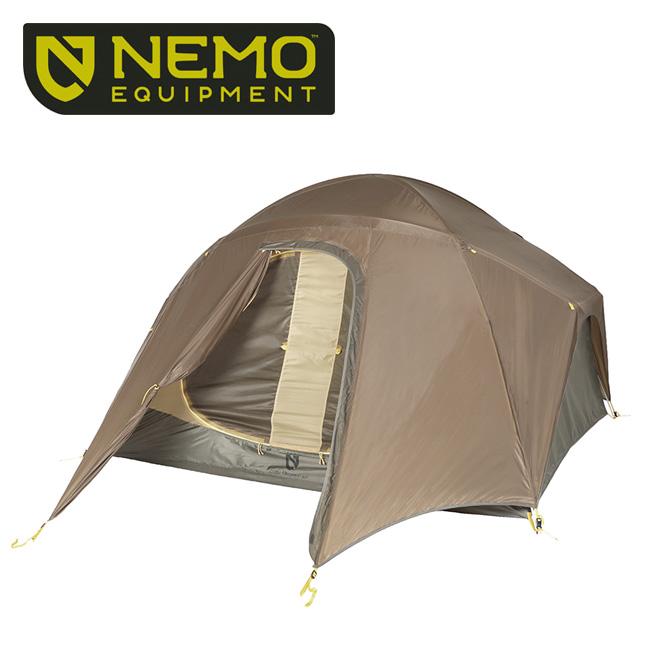 NEMO Equipment ニーモ・イクイップメント LOSI STORM 4P ロシストーム 4P NM-LSST-4P-CY 【アウトドア/キャンプ/テント】