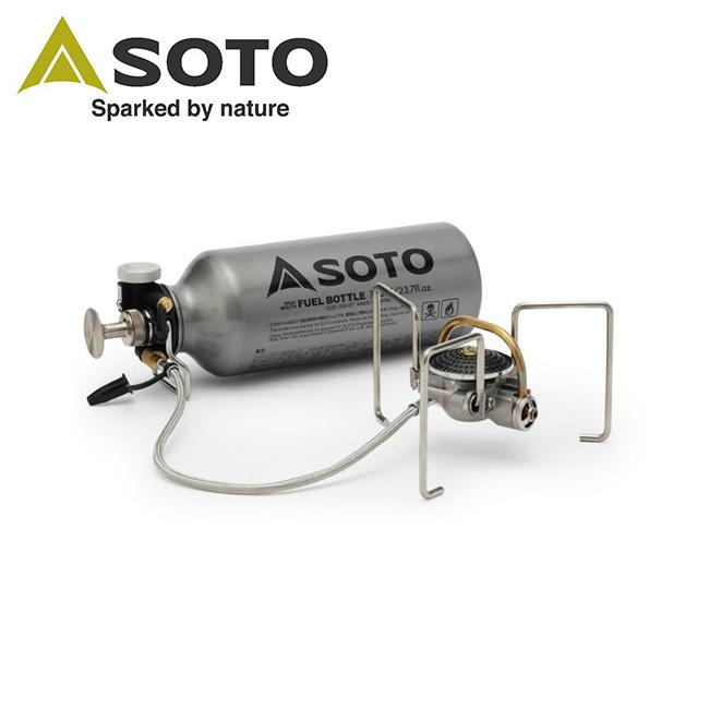 SOTO ソト MUKAストーブ + 広口フューエルボトル700mlのセット SOD-371+SOD-700-07 【ストーブ/ガソリン/燃焼ボトル/アウトドア/バーベキュー】