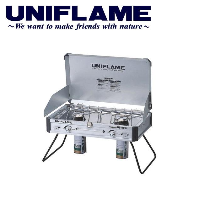 ユニフレーム UNIFLAME バーナー/ツインバーナー US-1900/610305 【UNI-BRNR】ツーバーナー キャンプ アウトドア バーベキュー BBQ ストーブ ガス ハイパワー 【highball】