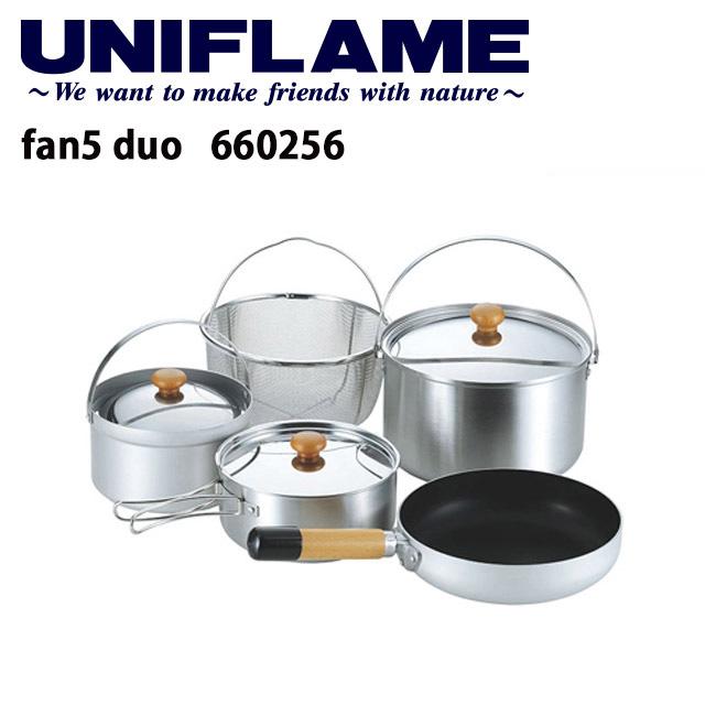 【ユニフレーム UNIFLAME】 fan5 duo/660256 【UNI-COOK】 お買い得 【highball】