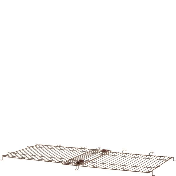 【送料無料】木製スライドペットサークル ワイド 屋根面〔19051805cc,s05_cc〕