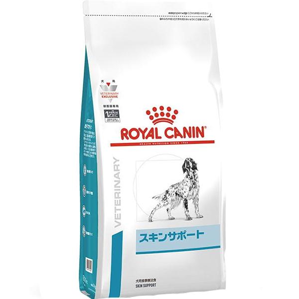 [食事療法食]ロイヤルカナン ベテリナリーダイエット 犬用 スキンサポート ドライ 8kg