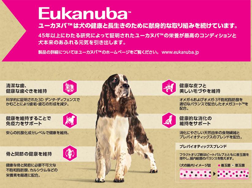 ユーカヌバ 7歳以上 シニア用 全犬種用 ラム&ライス 7.5kg