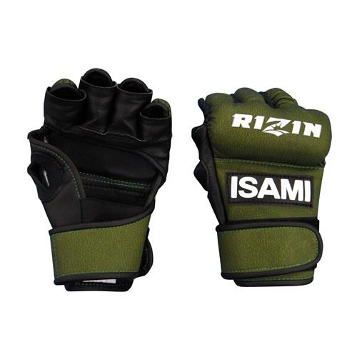 【ISAMI】イサミ RIZINオープンフィンガーグローブ RZ-001 1組売り