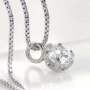 【楽天市場】一粒ダイヤモンド ネックレス Nude [0.1ct] K18/ 0.1