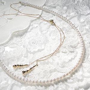 K18YG アコヤパール ネックレス あこや アコヤ真珠 真珠ネックレス パールネックレス ゴールド ミラーボール 18金 ジュエリー 人気 ギフト プレゼント パーティー 結婚式 ドレスアップ およばれ 6月誕生石