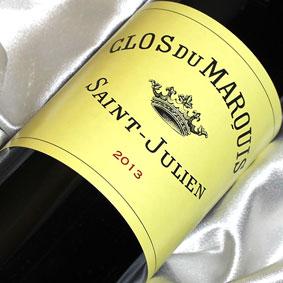 [2013]クロ・デュ マルキ [2013] Clos du Marquis [2013年] フランスワイン/ボルドー/サンジュリアン/赤ワイン/フルボディ/750ml
