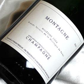 ベレッシュ クリュ・セレクショネ モンターニュ  [2004]Raphael et Vincent Bereshe Cru Selectionnes Montagne [2004年]フランス/シャンパーニュ/シャンパン/辛口/750ml