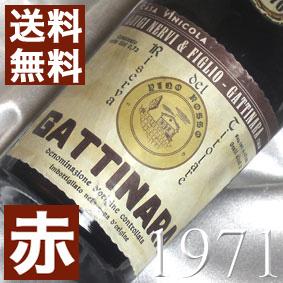 【送料無料】[1971](昭和46年)ガッティナーラ リゼルヴァ [1971] Gattinara Riserva [1971年]イタリアワイン/ピエモンテ/赤ワイン/ミディアムボディ/750ml/ルイジ・ネルヴィ4 お誕生日・結婚式・結婚記念日のプレゼントに誕生年・生まれ年のワイン!