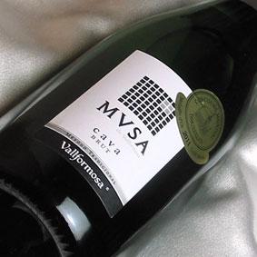 アウトレット☆送料無料 スペインワイン 即出荷 辛口 cava カヴァ ヴァルフォルモッサ ムッサ ブリュット Vallformosa Cava 発泡 泡 750ml Brut MVSA スパークリングワイン