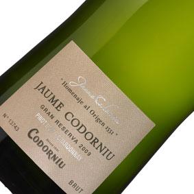 【正規品】ジャウマ・デ・コドーニュ [2009]Jauma Codorniu  [2009年]泡もの/スパークリングワイン/スペイン/カバ/cava/辛口/750ml/メルシャン【希少品・取り寄せ品】