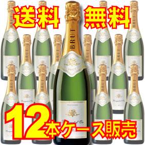 【送料無料】【レミー・パニエ】 ブーケ・ドール・ブラン 12本セット・ケース販売 フランスワイン/スパークリングワイン/辛口/Dry/750ml×12【アサヒビール】【泡ワイン】【フランスワイン12本セット】【泡もの】【ロワール】