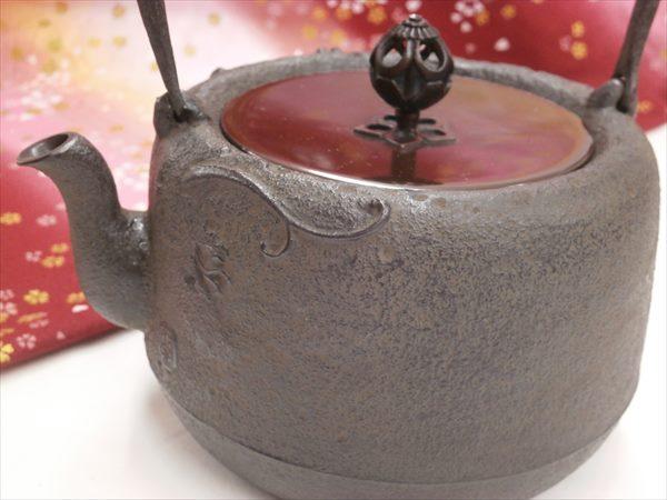山形县铸造铁瓶雨菊池雅光龙 1 4 L